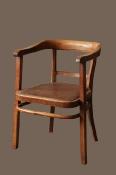 Дубовые сталинские кресла, комплект из 2 штук