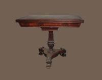 Старинный стол. Ломберный, середина XIX века