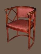 Венская мебель. Кресло антикварное, начало XX века