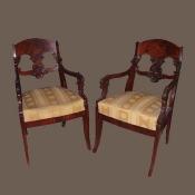 Старинные кресла, 19 век